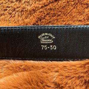 Gucci Accessories - Vintage Gucci Belt Two Tone Gold Silver GG Logo